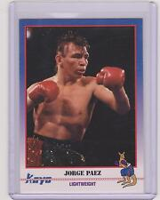 (100) 1991 KAYO JORGE PAEZ BOXING CARDS #51 ~ MEXICALI MEXICO ~ GREAT LOT!!!