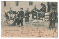 1908 France Paqueboat Real Picture Postcard Cover From Vietnam Hong Kong Sedan