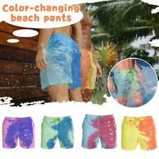 Мужские цвет изменение плавки плавательные шорты пляжные купальные шорты купальные шорты