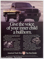 1996 DODGE RAM Pickup advertisement, Dodge Ram Sport Pickup, vintage truck ad