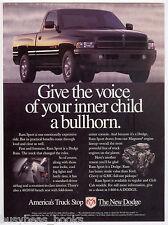 1996 DODGE RAM Pickup advertisement, Dodge Ram Sport Pickup, vintage truck ad