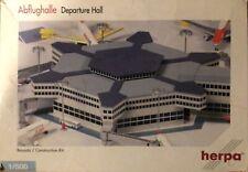 herpa Bausatz Abflughalle Construction Kit Airport Departure Hall