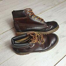 Timberland Womens Premium Leather Boots Size UK 2.5