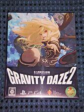 NEW PS4 Gravity Daze 2 Rush Limited Edition w/ BONUS Anime Blu-ray set JAPAN F/S
