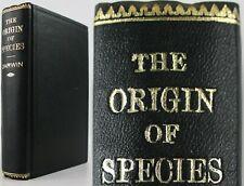 1880*CHARLES DARWIN*THE ORIGIN OF SPECIES*EVOLUTION*6th EDITION*JOHN MURRAY*HARD