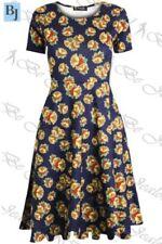 Christmas Polyester Petite Dresses for Women
