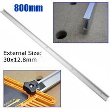 800mm Alloy T-slot T-tracks Miter Track Jig Fixture Slot Tool For Router Table