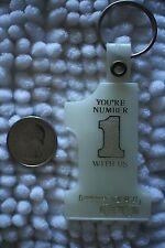 P & H Omega Crane Pawling Harnischfeger Vintage #1 Keychain Key Ring #23924