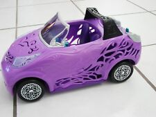 Monster High Doll Scaris City of Frights  Convertible Car Purple  MATTEL 2012