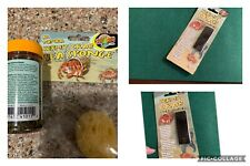 New listing Reptile/hermit Crab Carpet And Habitat Thermometer, Food And sponge