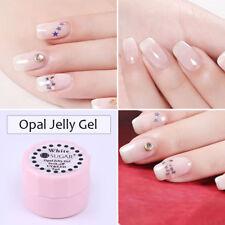 UR Sugar Opal Jelly Gel White Pink Soak Off Manicure UV Gel Nails Polish 5/7.5ml