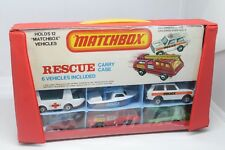 MATCHBOX * RESCUE SET WITH CARRY CASE - 6 VEHICLES * OVP * KOFFER