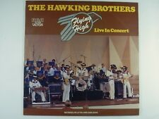 THE HAWKING BROTHERS Flying High / Live In Concert - 1980 OZ LP