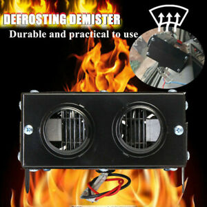 Car 400W 12V Fan Heater Heating Winter Warm Windscreen Defroster Demister Manual
