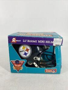 1994 Vintage Lil Riddell Pittsburg Steelers Mini Helmet Team NFL Official NOS