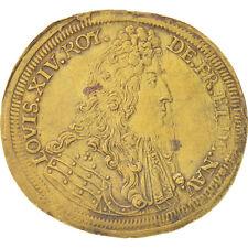[#402410] France, Royal, Louis XIV, Nuremberg, 28mm, Token