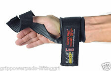 Gym Power Training Weight Lifting Straps Wraps Hand Bar Wrist Support Heavy Duty