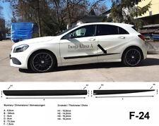 Seitenschutzleisten schwarz für Mercedes Benz A-Klasse W176 ab Baujahr 06.2012-