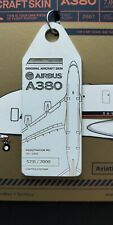 AVIATION TAG AIRBUS A380 SINGAPORE AIRLINES 9V-SKA RARE SOLD OUT
