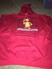 Universal Studios E.T. Phone Home Adult Hoodie 2XL XXL NWOT Extra-Terrestrial