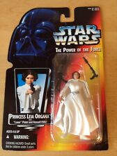 Star Wars POTF Princess Leia Organa US Red Card  ~1995 MInt On The Card~