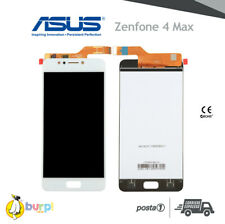 "DISPLAY LCD + TOUCH SCREEN ASUS ZENFONE 4 MAX ZC520KL X00HD  5.2"" BIANCO SCHERMO"