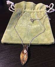 Dean Harris for Target 925 Sterling Silver Necklace With Copper Pendant Pearl