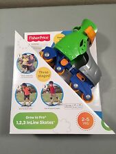 Fisher-Price Grow to Pro 1, 2, 3 InLine Skates