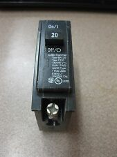 Cutler Hammer BR120 20 A 1 Pole Circuit Braker Used FREE SHIPPING Box #A-36-F