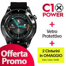 Smartwatch C10 XPOWER + 2 Cinturino omaggio + Vetro protettivo OFFERTA PROMO