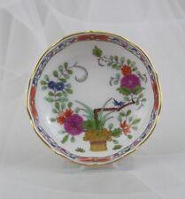 Meissen Teller Schälchen mit Blumen und Golddekor Indische Malerei 1 Wahl