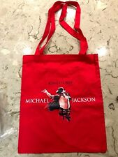 "MICHAEL JACKSON TOTE BAG 100% Cotton - 14"" x 16""  Official Product - Brand New"