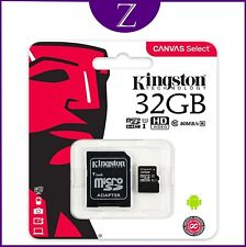 KINGSTON MICRO SD SDHC Memory Card Class 10 UHS-I 32GB VERSION