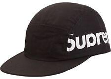 Supreme Side Panel Camp Cap Black