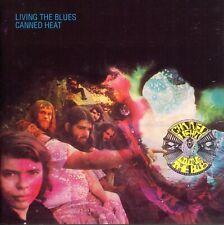 2 CDs Canned Heat - Living The Blues (im Kartonschuber) (sehr gut)