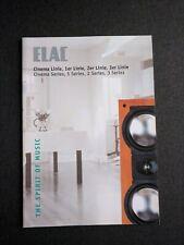 Original ELAC Cinema Series Katalog