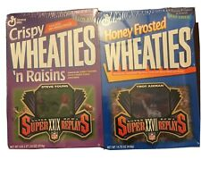 Wheaties Cereal Box, Troy Aikman, Steve Young, Hologram Cards, Superbowl, Sealed