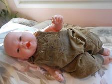 saloppette  pour bébé naissance ou compatible avec reborn,baigneur colin 48cm
