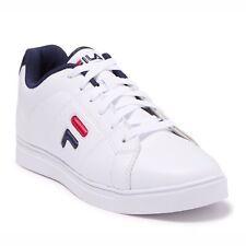 Men's Fila Charleston White   Navy   Red Fashion Sneakers