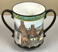 """ROYAL DOULTON, Pottery in the Past, 6.25"""" Loving Cup Jug D6696, 1982, EXC. COND."""