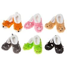 Snoozies slippers super soft warm fleece & cosy Style Furry Animals col Various