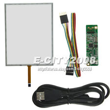 12.1 inch 5 Wire Resistive Touch screen Digitizer +USB Kits For LTN121XF-L01 4:3