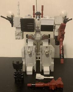 G1 Transformers Metroplex Vintage Figure Incomplete