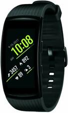 Genuine Samsung Gear Fit2 Pro 51mm Aluminium Case 170mm Band Smartwatch - Black