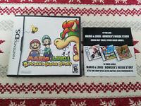 Mario & Luigi Bowser's Inside Story - Authentic - Nintendo DS - Case / Box Only!