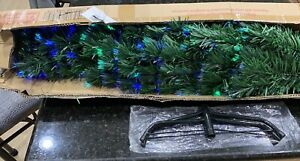 Brand New 5 Foot Pre Lit Artificial Fiber Optic Christmas Tree 180 LED Lights