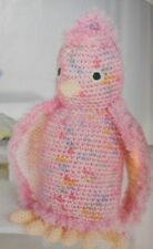 CROCHET PATTERN Colourful Cockatoo Bird Toy Animal Doll 25cm Childrens PATTERN