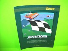 Bally Sente STOCKER Original NOS 1984 Video Arcade Game Promo Sales Flyer #2