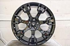 "1 x Genuine Original Maserati GranTurismo 20"" Neptune Alloy Wheel Black 10.5J"