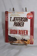 Audiobook T.Jefferson Parker Iron River a Charlie Hood Novel new abridged 5 CDs